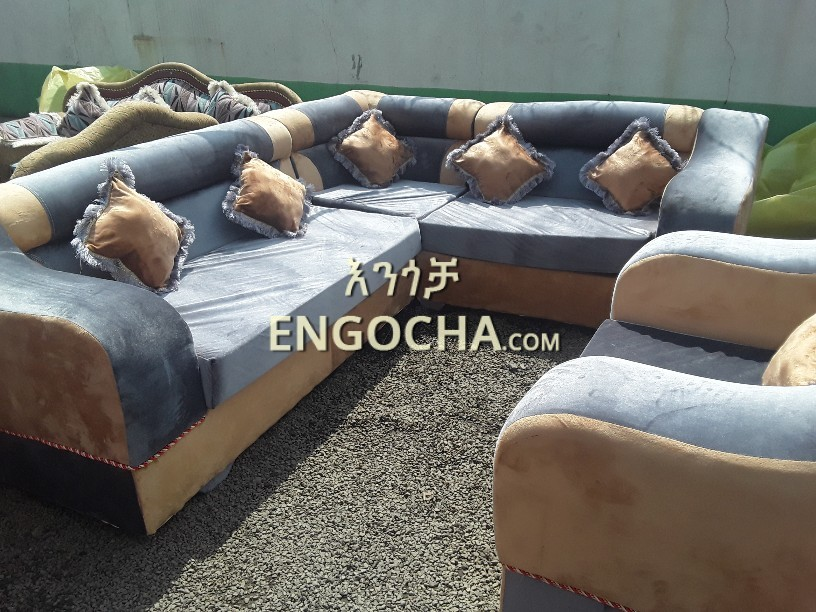 New Design L Shape Sofa For Sale Price In Ethiopia Engocha Com
