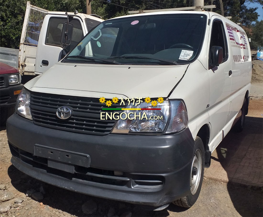 Toyota Dolphin Hiace D4D Van 2009, Manual Transmission, Original left  Steering